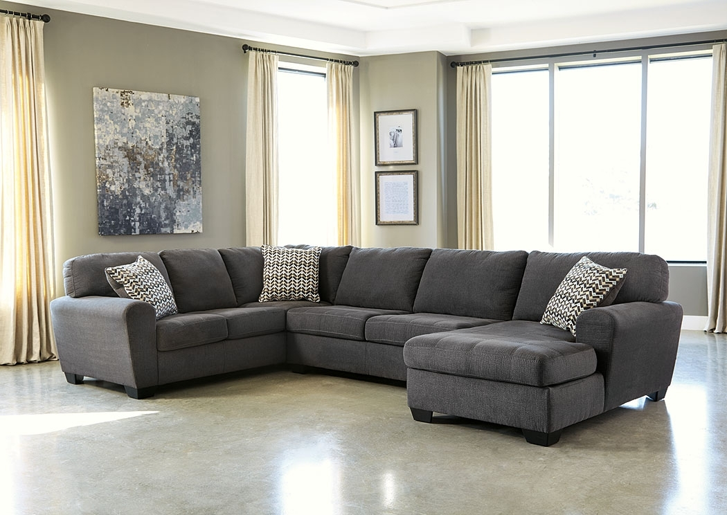 Ivan Smith Sorenton Slate Right Facing Chaise Sectional Throughout Ivan Smith Sectional Sofas (View 8 of 10)