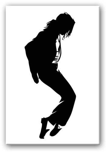 Jackson Silhouette Canvas In Michael Jackson Canvas Wall Art (View 14 of 20)