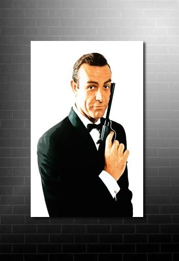 James Bond Canvas Art For James Bond Canvas Wall Art (Image 8 of 20)