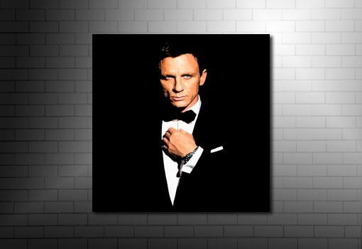 Featured Image of James Bond Canvas Wall Art