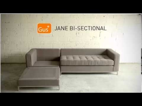 Jane Bi Sectionalgus – Youtube In Jane Bi Sectional Sofas (Image 4 of 10)