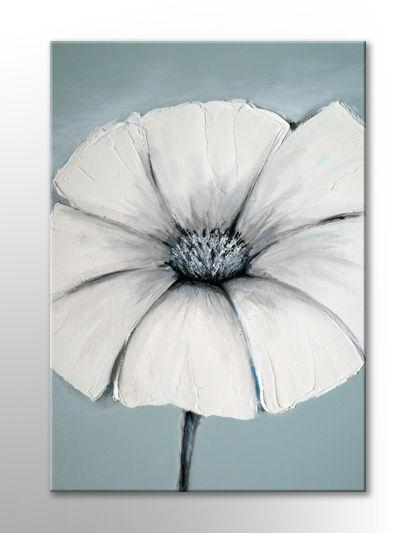 Japanese Painting Wall Art Canvas Print Duck Egg Blue White Grey For Duck Egg Blue Canvas Wall Art (Image 10 of 20)