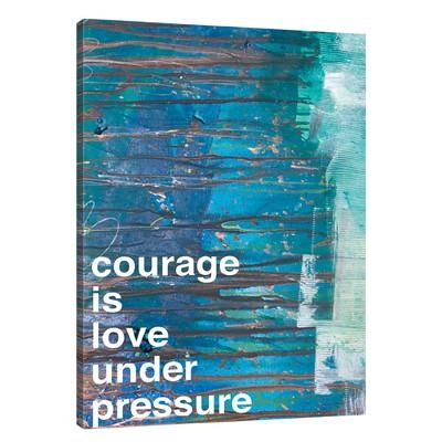 Jaxsonrea 'courage'kent Youngstrom Painting Print On Wrapped Inside Kent Canvas Wall Art (Image 17 of 20)