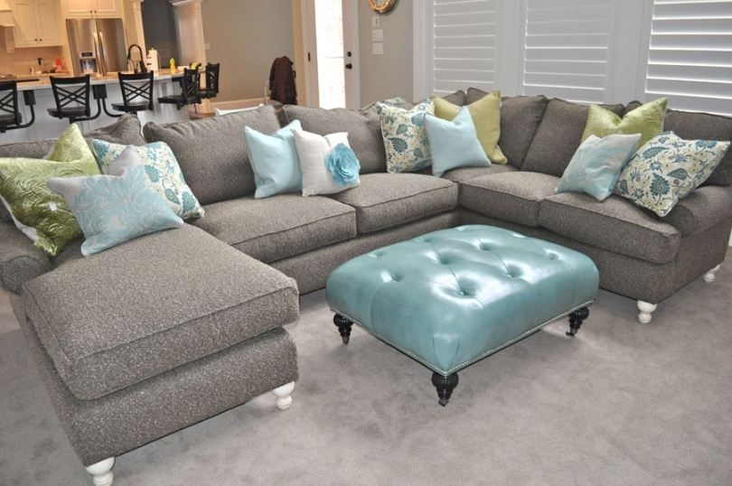 Jcpenney Sectional Sofa With Blue Ottoman (Good Jcpenney Couch #6 Within Jcpenney Sectional Sofas (Image 5 of 10)