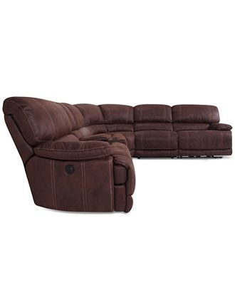 Featured Image of Jedd Fabric Reclining Sectional Sofas