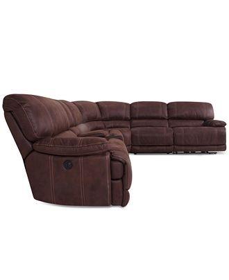 10 Best Ideas Jedd Fabric Reclining Sectional Sofas Sofa