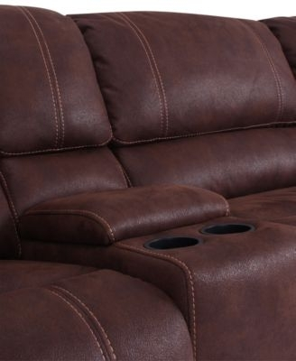 Jedd Fabric 6 Pc. Power Motion Reclining Sectional Sofa (2 Recliners For Jedd Fabric Reclining Sectional Sofas (Photo 3 of 10)