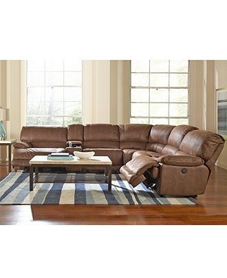Jedd Fabric Sectional Living Room Furniture Collection, Power Inside Jedd Fabric Reclining Sectional Sofas (View 2 of 10)