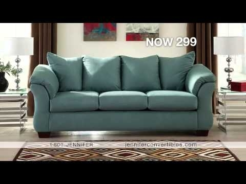 Jennifer Convertibles Commercial Narrateddebbie Irwin – Youtube Pertaining To Jennifer Sofas (Photo 4 of 10)