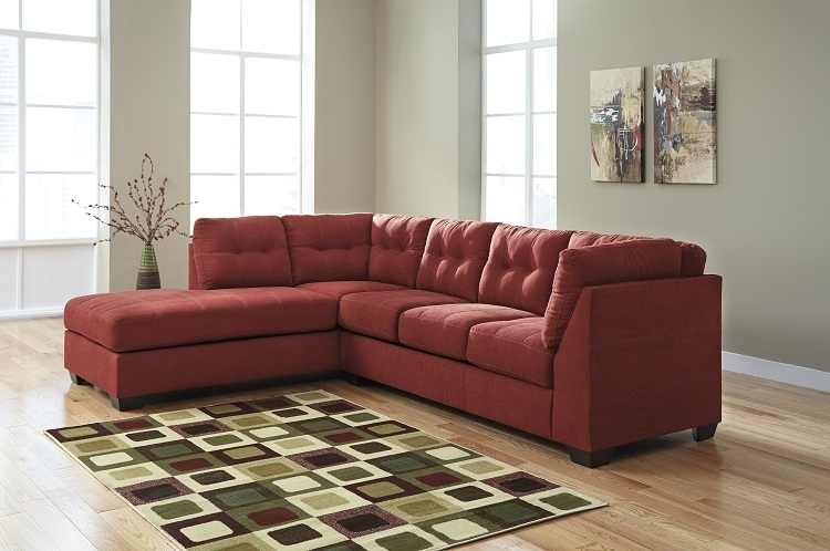Jennifer Sienna 2 Piece Sectional #casual #comfort #dufresne | With Throughout Dufresne Sectional Sofas (Photo 1 of 10)
