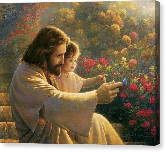 Jesus Canvas Prints | Fine Art America Within Jesus Canvas Wall Art (Image 14 of 20)