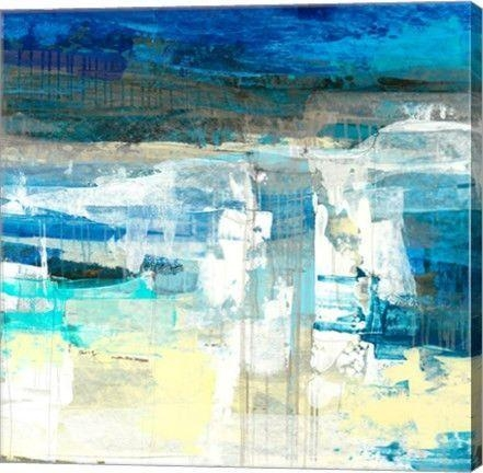 Jetty 1 Abstract Canvas Wall Art Printmaeve Harris | Rich Inside Jetty Canvas Wall Art (Image 10 of 20)
