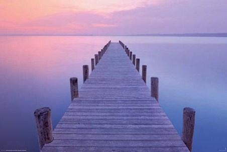 Jetty At Sunrise, As Night Turns To Day – Popartuk For Jetty Canvas Wall Art (Photo 13 of 20)