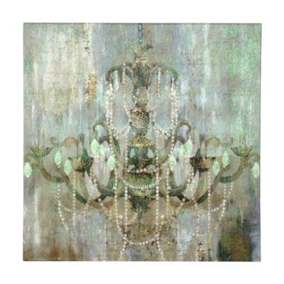 Jeweled Chandelier Canvas Art Print | Chandeliers, Master Bedroom Pertaining To Chandelier Canvas Wall Art (Image 10 of 20)