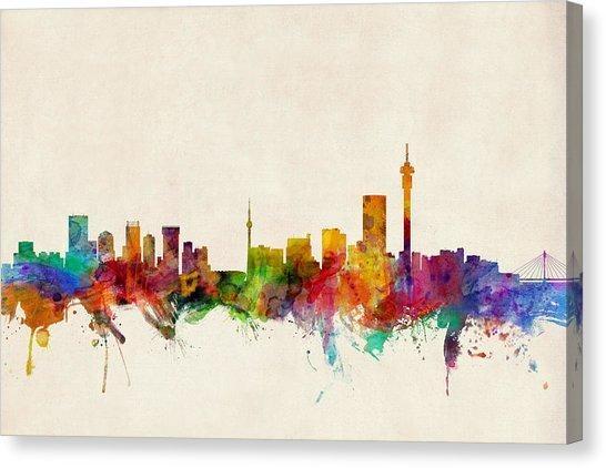 Johannesburg Canvas Prints | Fine Art America Intended For Johannesburg Canvas Wall Art (Photo 14 of 20)