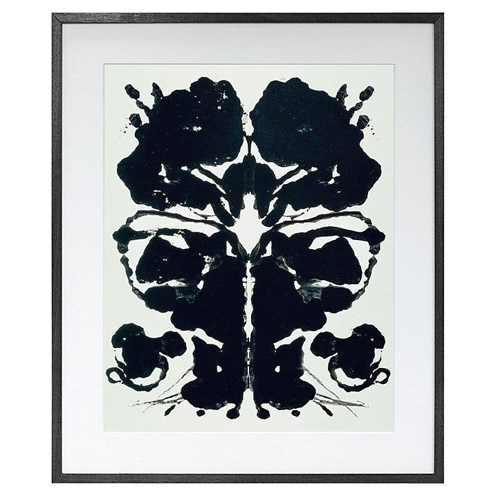 John Lewis Andy Warhol Rorschach Print | Andy Warhol Inspired Home For John Lewis Abstract Wall Art (View 11 of 20)