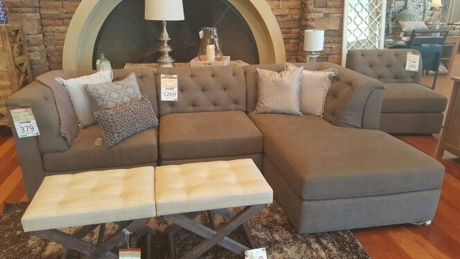 "Jonathan Louis ""amelia"" Modular 3 Piece Sectional At Homemakers With Regard To Homemakers Sectional Sofas (Image 9 of 10)"