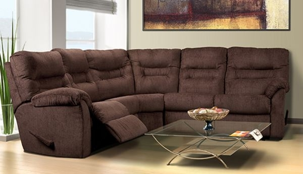 Jordan Cast & Wicker | Madeline Reclining Sectional Intended For Oakville Sectional Sofas (View 10 of 10)