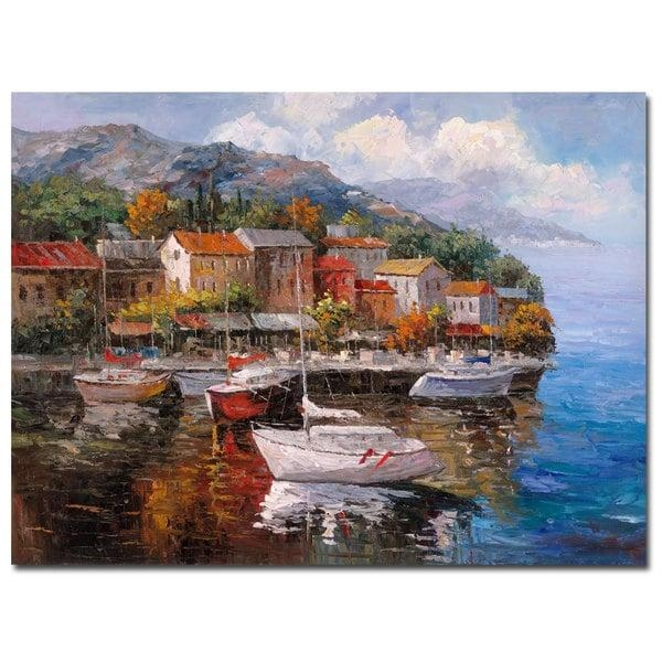 Joval 'at Sea' Canvas Wall Art – Free Shipping Today – Overstock Within Joval Canvas Wall Art (Photo 1 of 20)
