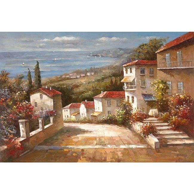 Joval 'home In Tuscany' Canvas Art – Free Shipping Today Regarding Joval Canvas Wall Art (Image 13 of 20)