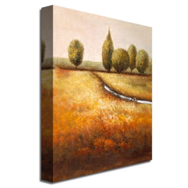 Joval 'in The Country Ii' 14X19 Canvas Wall Art – Free Shipping Regarding Joval Canvas Wall Art (Photo 4 of 20)