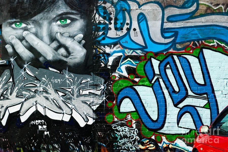 Joy Graffiti Wall Paintingyurix Sardinelly Pertaining To Abstract Graffiti Wall Art (Image 13 of 20)