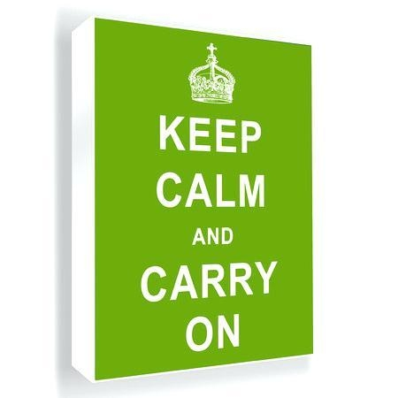 Keep Calm And Carry On Wall Art Vintage Car Calm And Carry Art With Keep Calm Canvas Wall Art (Image 12 of 20)