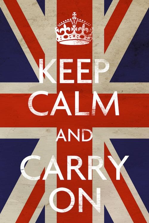 Keep Calm & Carry On (British Flag) Canvas Artwork | Icanvas With Regard To Keep Calm Canvas Wall Art (View 12 of 20)