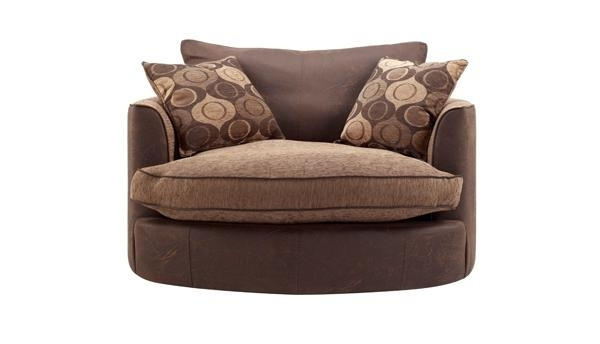 Kelso Swivel Chair – Fabric With Regard To Sofas With Swivel Chair (Image 5 of 10)