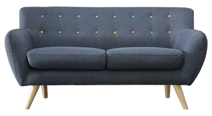 Kenta 2 Seater Sofa – Sofas, Sofa Beds, Recliners, Couches & Daybeds With Regard To 2 Seater Sofas (Image 4 of 10)