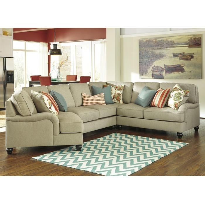 Kerridon 4 Piece Sectional In Putty | Nebraska Furniture Mart | New Regarding Nebraska Furniture Mart Sectional Sofas (View 5 of 10)