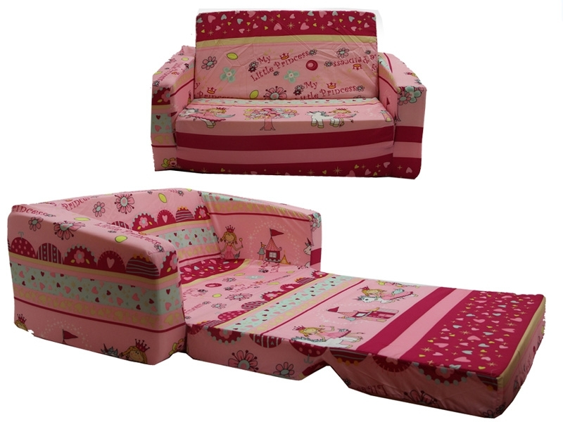 Kiddee Lounge Foam Flip Out Sofa » Kultoys Pty Ltd Within Flip Out Sofa For Kids (Image 8 of 10)