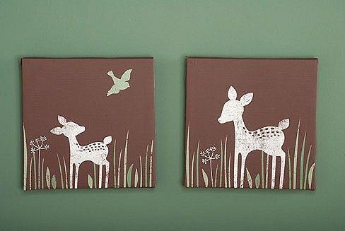 Kids Line Willow Organic Canvas Wall Art | Favorite Places And Throughout Kidsline Canvas Wall Art (Image 10 of 20)