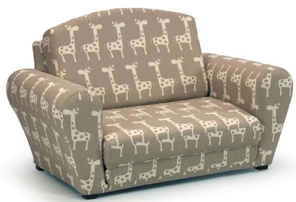 Kids Sleepover Sofa Chair – Stretch – Maple/natural | Cool Kids Chairs Regarding Rocking Sofa Chairs (Image 4 of 10)