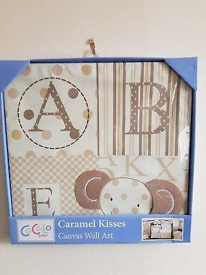 Kidsline Caramel Kisses Canvas Wall Art – £ (Image 13 of 20)