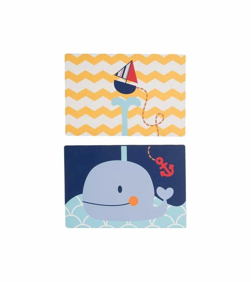Kidsline Sail Away Canvas Wall Art – Set Of 2 Intended For Kidsline Canvas Wall Art (Image 15 of 20)