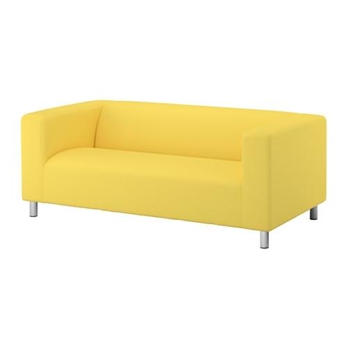 Klippan Two Seat Sofa – Vissle Grey – Ikea For Ikea Two Seater Sofas (Image 7 of 10)