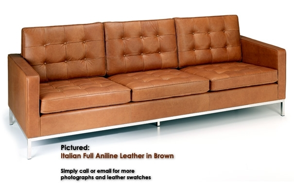 Knoll Three Seater Sofa From Iconic Interiors With Regard To Florence Knoll 3 Seater Sofas (Image 9 of 10)