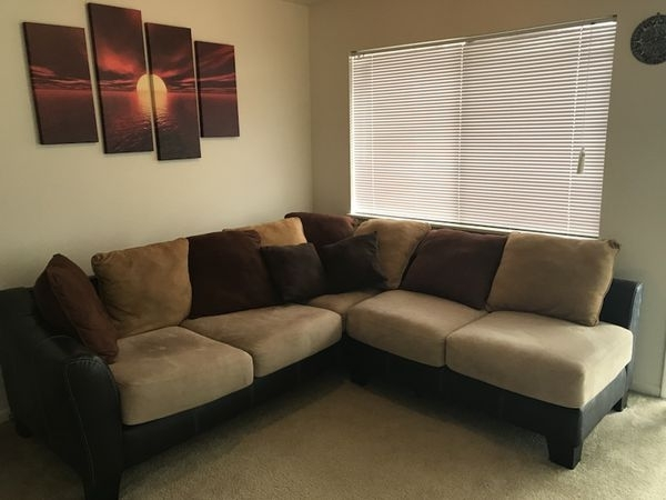L Shape Sectional Sofa (Furniture) In Kansas City, Mo – Offerup With Regard To Kansas City Mo Sectional Sofas (Image 6 of 10)