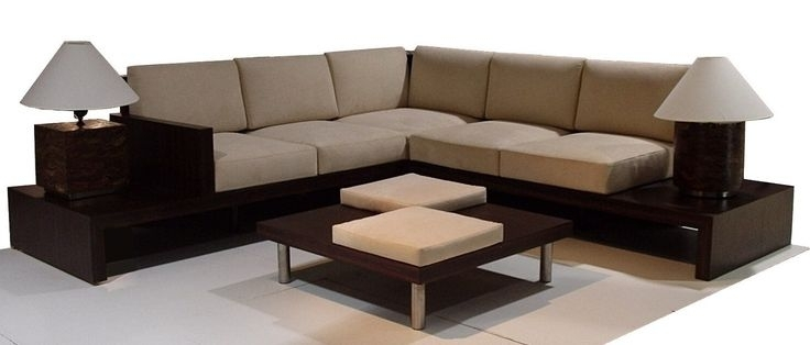 L Shape Sofa In Loose Seat And Back Cushions | My Home Sofa | Pinterest Pertaining To Sectional Sofas In Philippines (View 2 of 10)