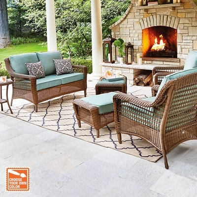 L Shaped Patio Furniture | Fpcdining Intended For Patio Sofas (Image 5 of 10)