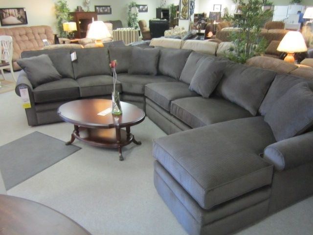 La Z Boy Collins Sectional Home Living Pinterest Lazy Boy Sectional For La Z Boy Sectional Sofas (Image 6 of 10)