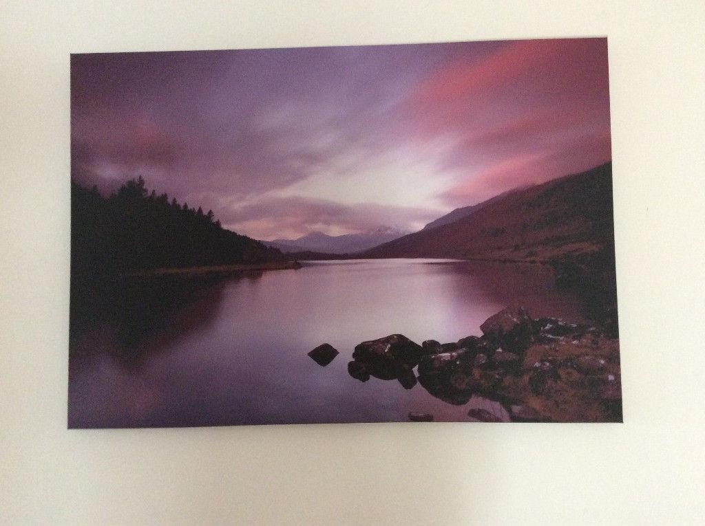 Landscape Canvas Wall Art | In Christchurch, Dorset | Gumtree Within Gumtree Canvas Wall Art (Image 12 of 20)
