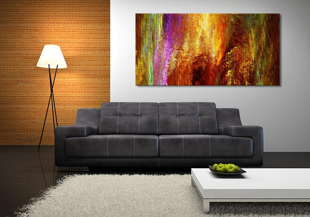 Large Abstract Canvas Art Archives – Cianelli Studios Art Blog Within Modern Canvas Wall Art (Image 9 of 20)