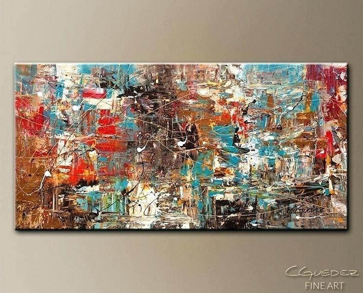 Large Abstract Canvas Wall Art A Heart So Big Abstract Energy Art Inside Large Abstract Canvas Wall Art (Image 11 of 20)
