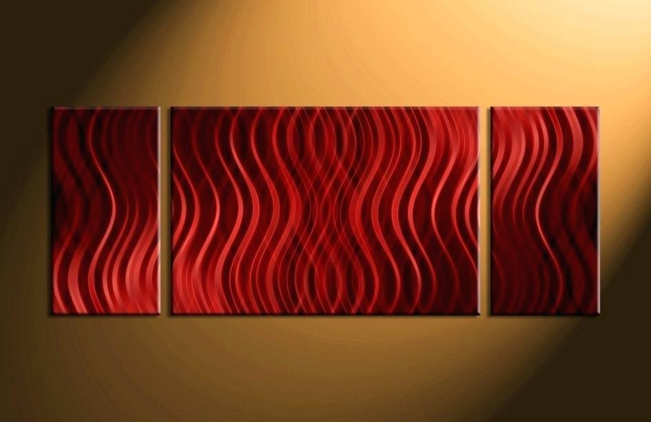 Large Abstract Canvas Wall Art A Heart So Big Abstract Energy Art Pertaining To Large Red Canvas Wall Art (View 12 of 14)