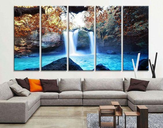 Large Art Prints, Large Art And Waterfalls On Pinterest In Large With Large Canvas Wall Art (Image 9 of 20)