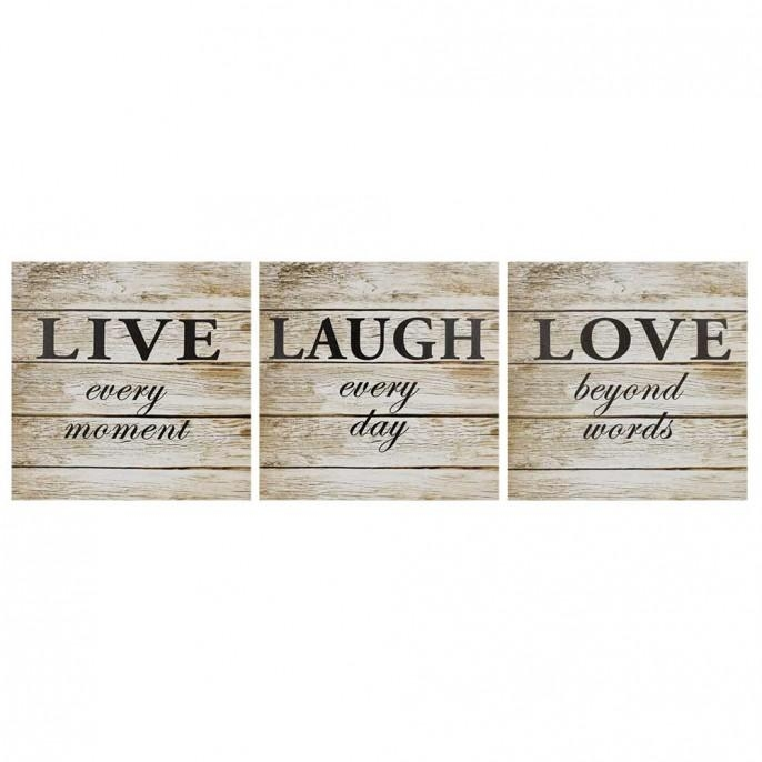 Featured Image of Live Laugh Love Canvas Wall Art