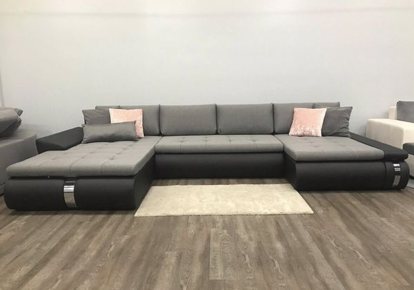 Large Sectional Sofa Bed Pull Out Bed Storage Couch Paola Lux Inside Elk Grove Ca Sectional Sofas (View 6 of 10)