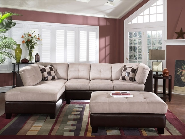 Large Sectional Sofa With Ottoman Living Room | Windigoturbines Inside Couches With Large Ottoman (Image 4 of 10)